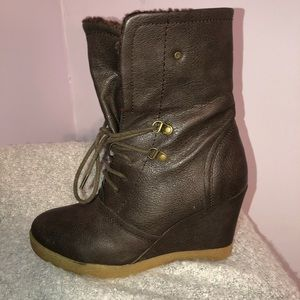 Boots worn two ways!!